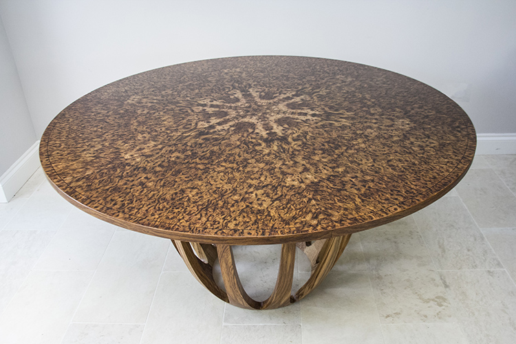 Brown oak expanding dining table 02.jpg