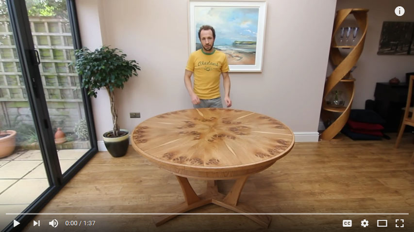 This Table Was Made With A Matching Set Of Solid Oak Chairs, Some  Photographs Are Below, With More Information On The Chairs Section Of The  Website.