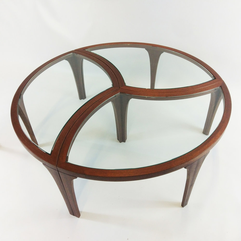 Coffee Table Nest in Sapele