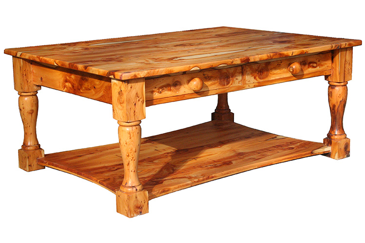 Coffee Table in Yew