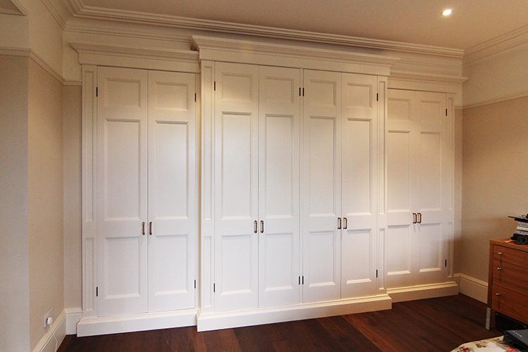 Wardrobe With Painted Finish