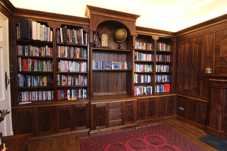 Fitted Study in Walnut