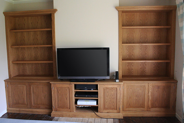 Superieur Fitted Alcove Units In Oak