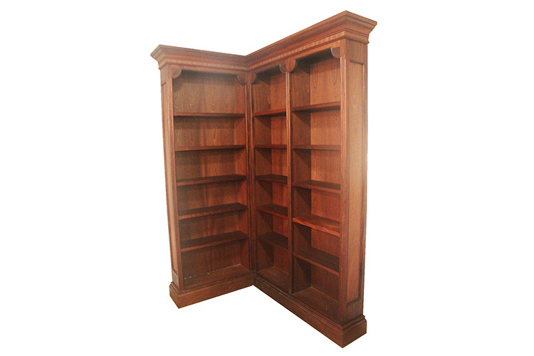 Bookcase in Sapele