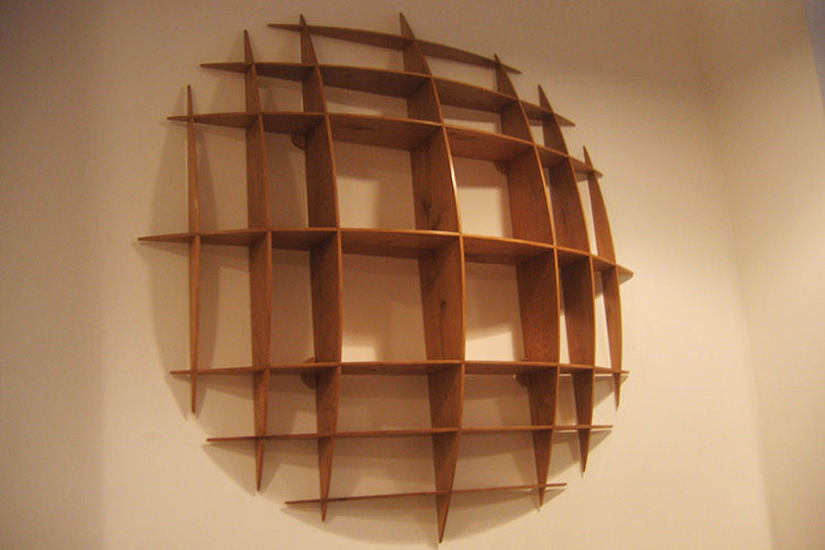 circualr Wall Shelf