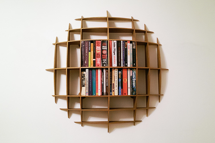 Circular Wall Shelf