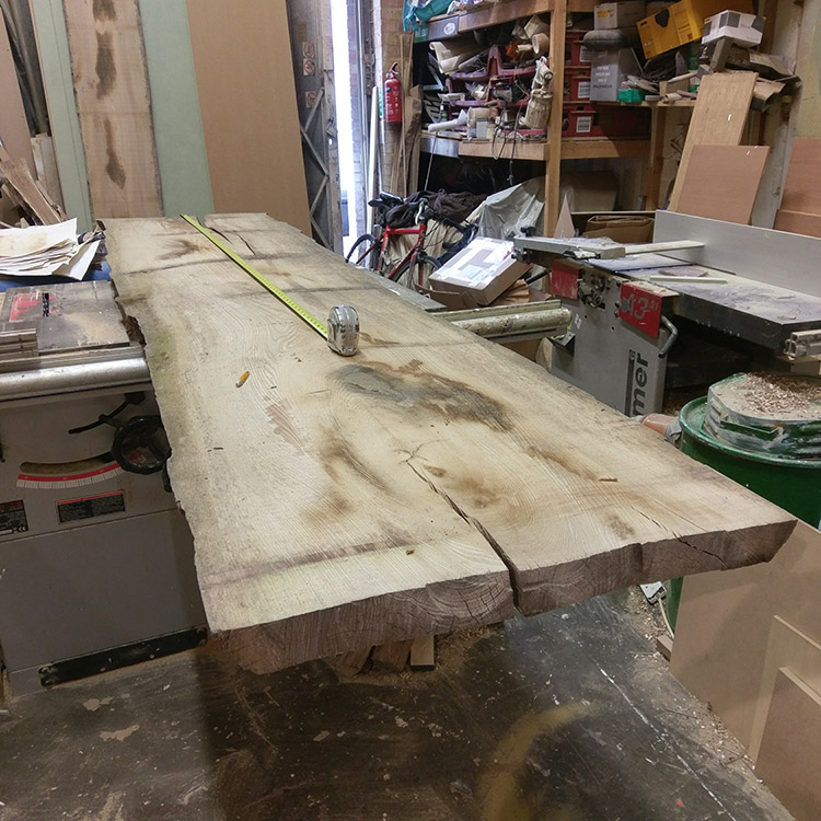 Large elm board to start things off!