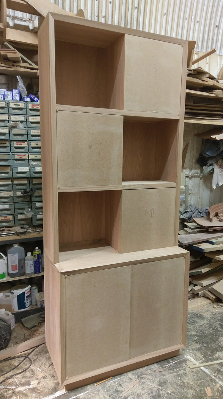 Cabinet after glue up