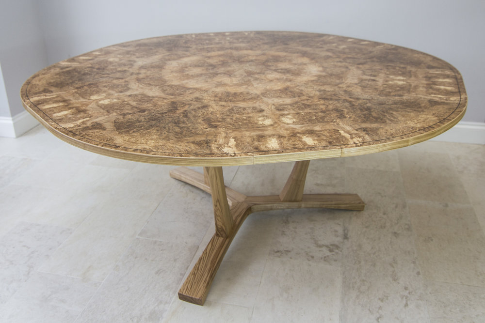 Burr ash expanding dining table 05.jpg