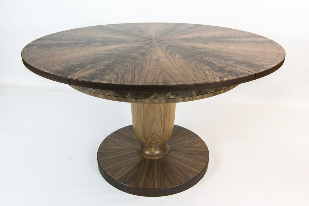 Walnut and Wenge table 1.6m 01.jpg