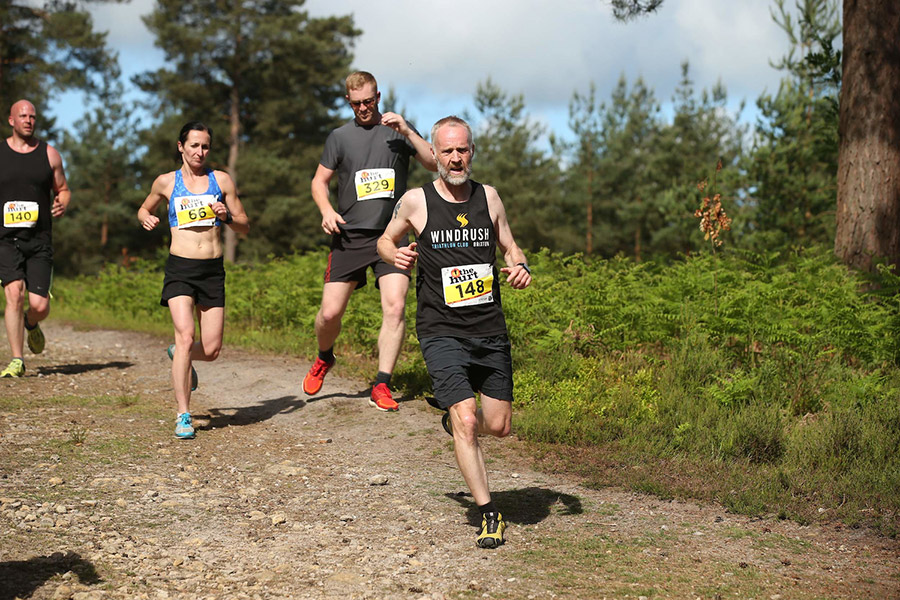 Windrush triathletes trail running