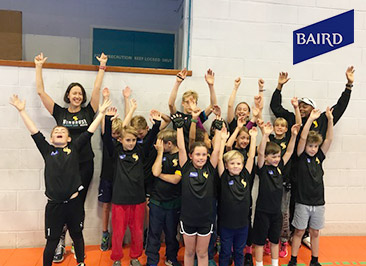 Baird  Baird have been our Junior squad sponsor for 2017. Thanks to their generosity we were able to offer subsidised kit, free entry to Hever Castle and also an end of season party. Baird also sponsored the junior aquathlon and the smoothie stand.