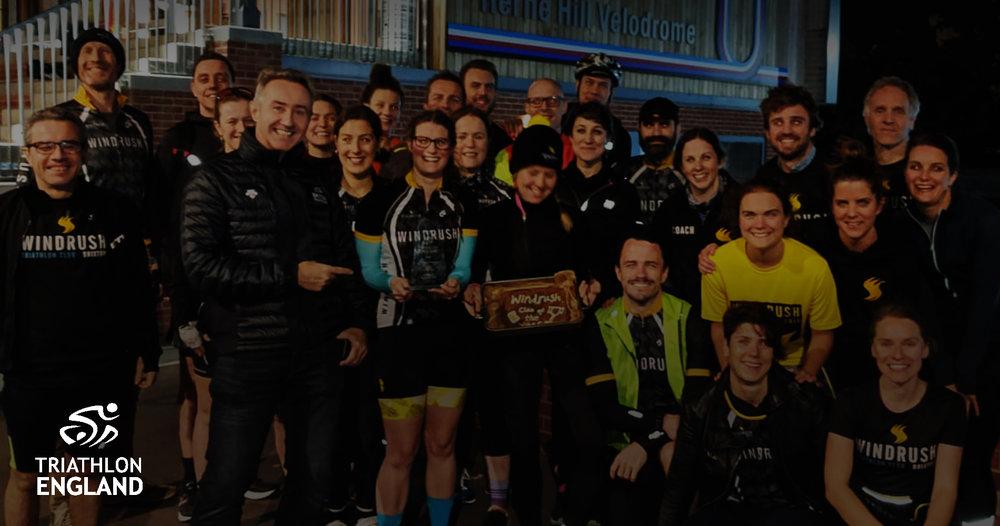 CLUB OF THE YEAR 2018 - Triathlon England Awards