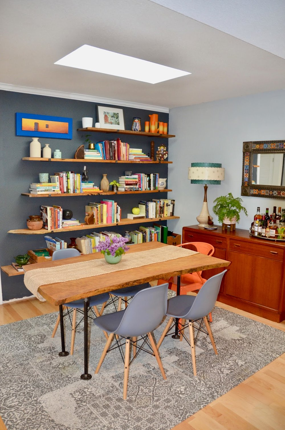 Mid Century Modern Kitchen & Dining Room Remodel - San Leandro, CA