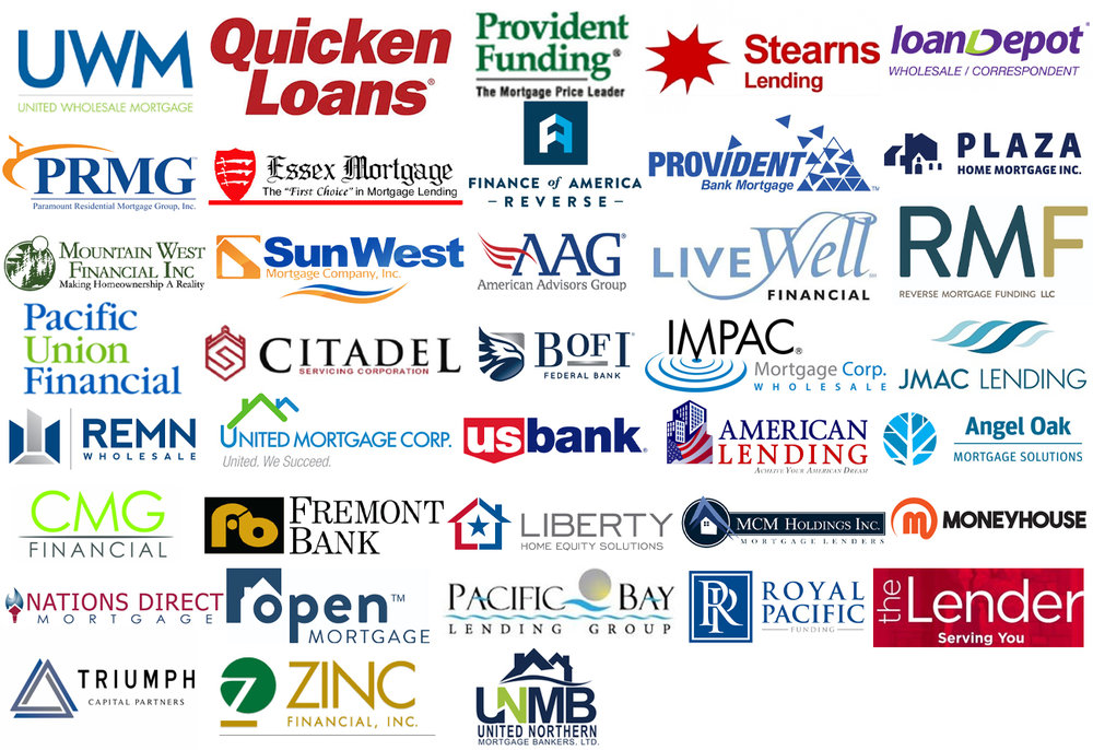 Shop For Your Mortgage With Over 40+ Lenders! - Yup! You read that right! We are approved with over 40 of the best residential lenders in the United States. Avoid multiple credit inquiries by only running your credit once and shopping for your mortgage with all 40+ of our lenders! #BOOM