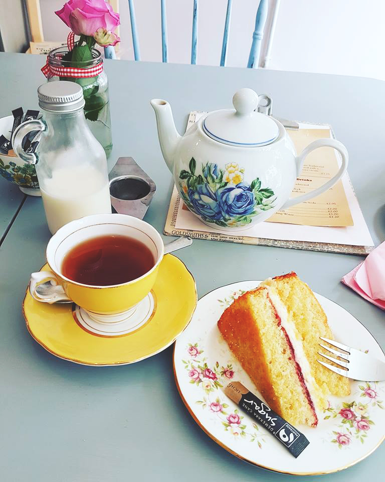 Afternoon tea at The Strawberry Teapot, Sudbury