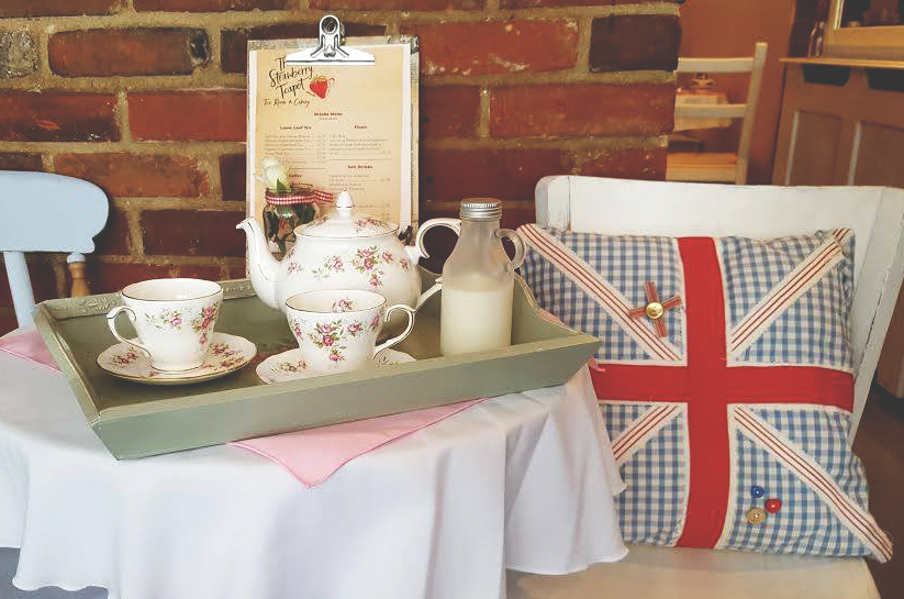 Vintage Tea at the Strawberry Teapot Tea Room, Sudbury