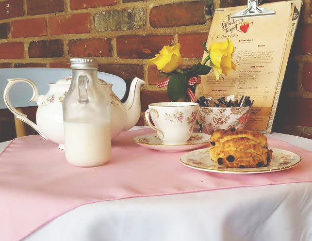 Gluten free Tea at The Strawberry Teapot, Sudbury