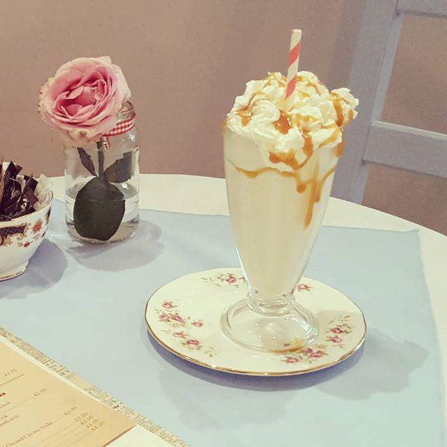 Banana Fudge milkshake... my personal favourite....