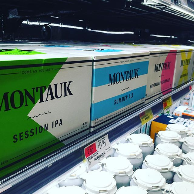 #montauk state of mind.  #shelfrespect @montaukbrewco