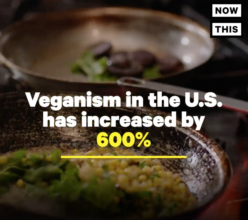 "The Global Vegan Boom in a ""Now This"" Video// January 24th, 2018"
