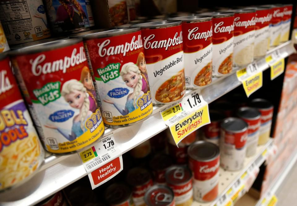 Campbell's Foresakes Fresh to Re-Focus on Soup// September 6, 2018