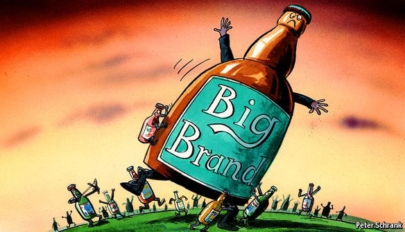 Smaller Brands are Attacking the World's Largest CPG Brand // July 11, 2016