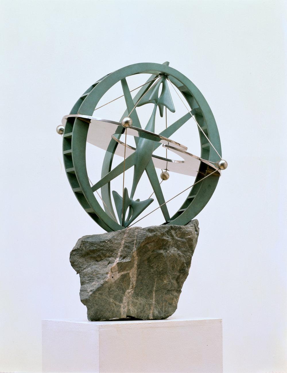 Atlas, Maquette (1995)  Bronze