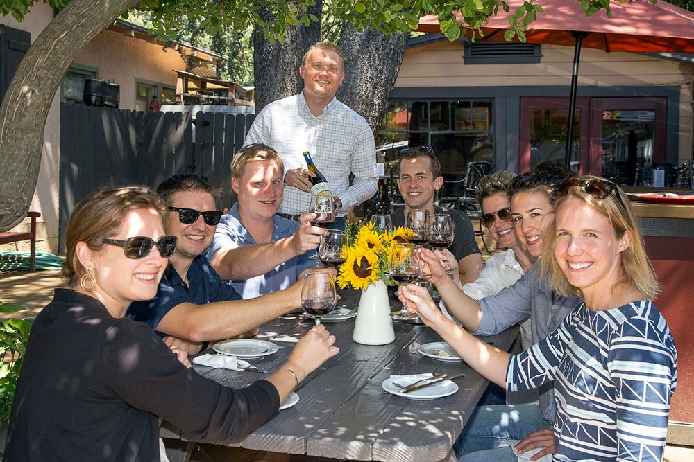 Private & Group Tastings - Join us for our popular tasting experiences from group tastings in downtown Sonoma to a private vineyard and winery tour including barrel tasting at our Sonoma Carneros Winery. Go here to plan your next tasting experience at Roche Winery.