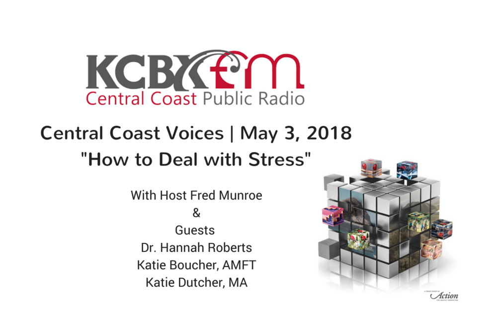 KCBX.FM: How to Deal with Stress