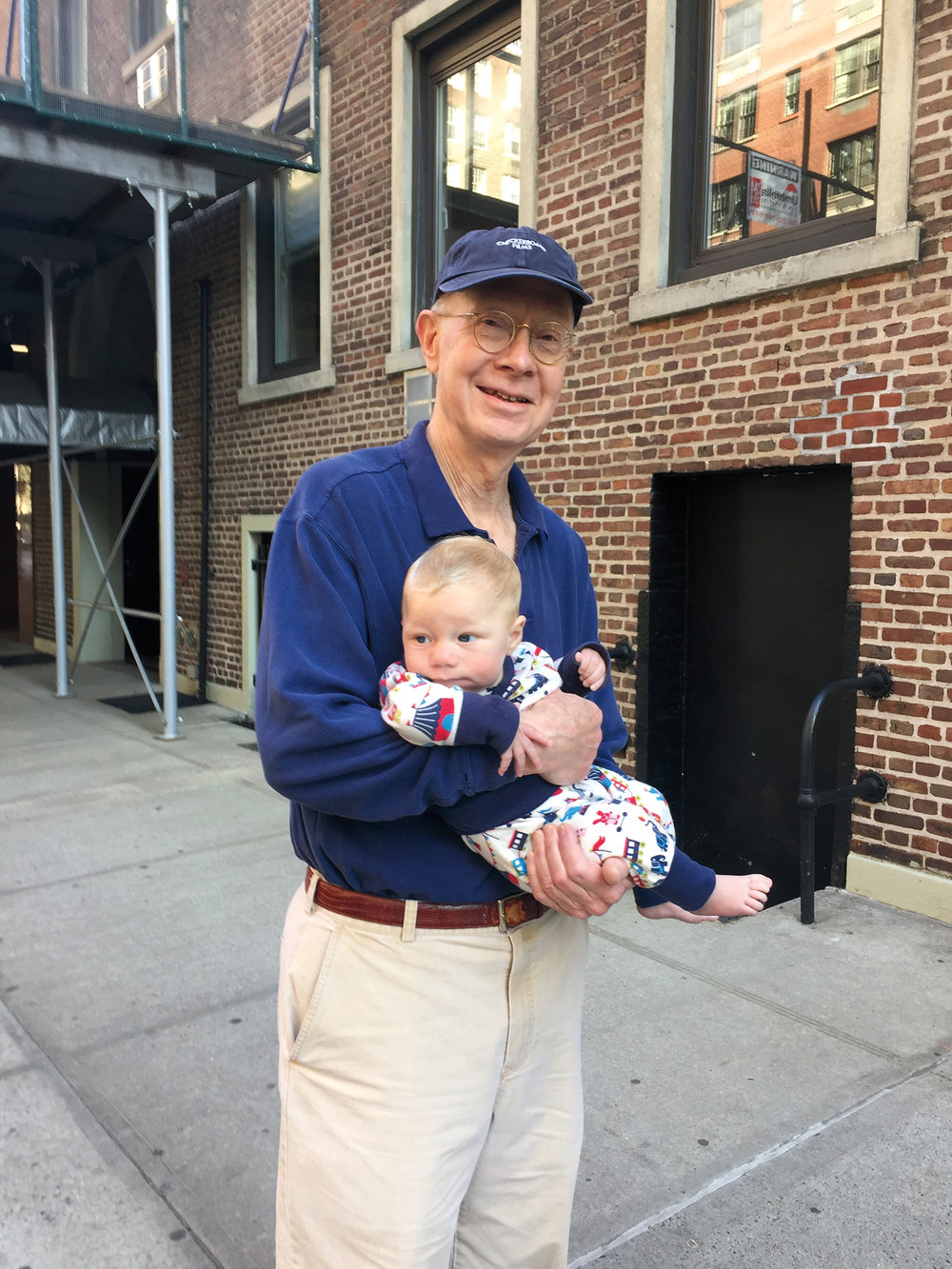 1965 Parshall with grandson.jpg