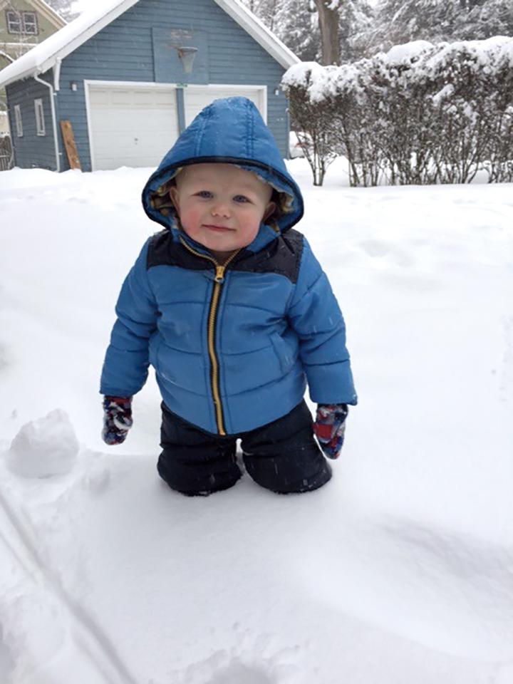 1968 Charles Eaton's grandson in snow.jpg