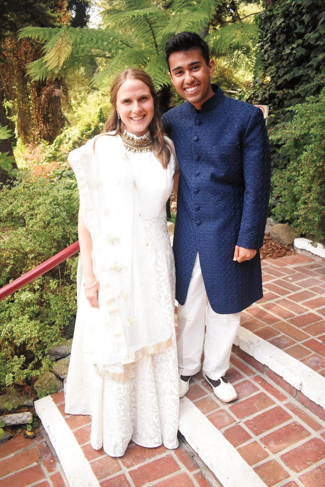 Tailia (Lesser) Chopra '11 married Shaurya Deep Chopra in Santa Cruz, Calif.