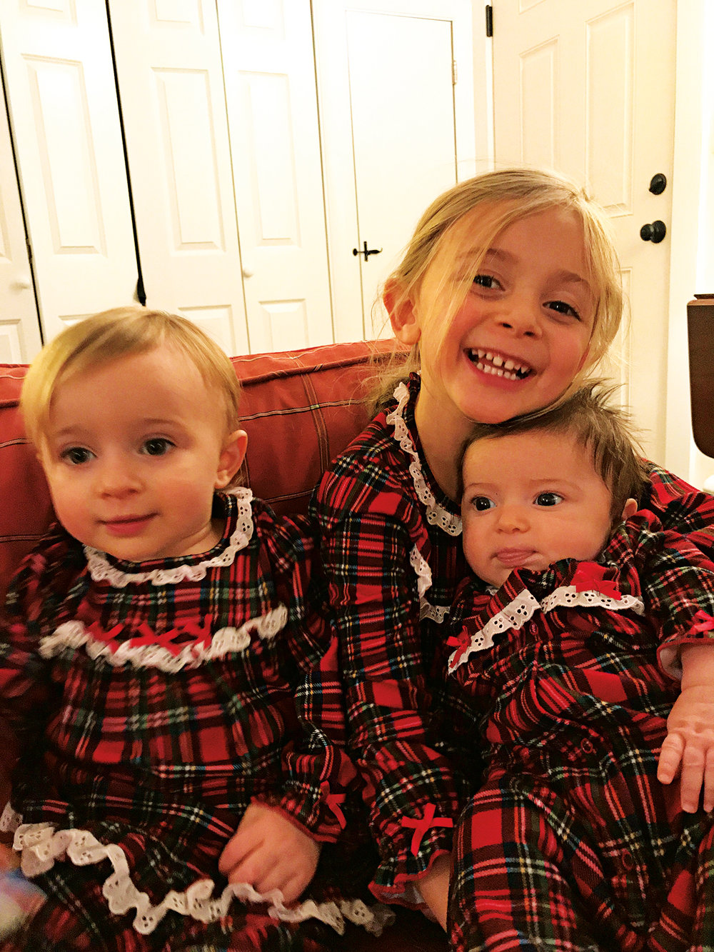 Madeleine Grace Ball, daughter of Steve Ball '95, was born in September, joining sisters Eleanor and Abigail.