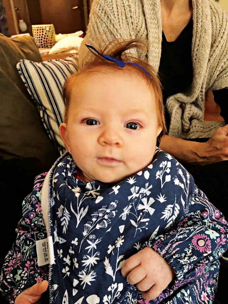 Riley Clifford, daughter of Caitlin and Devin Clifford '03, was born in October 2017.