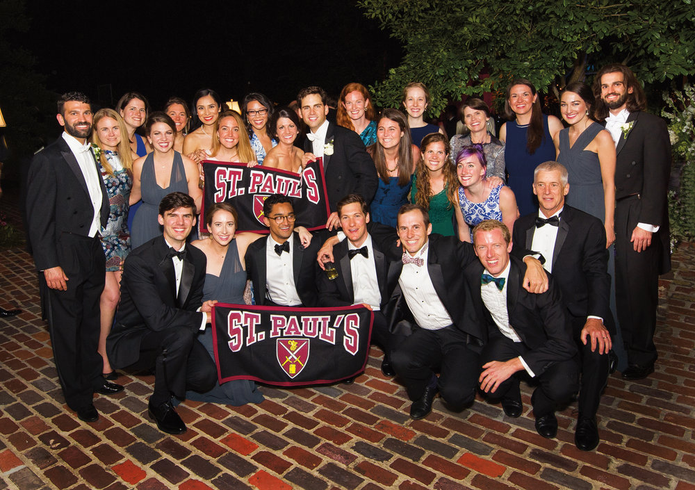 Morgan Nelson '07 married John Shaughnessy on May 6, 2017, in Louisiana, with a large St. Paul's contingent in attendance.
