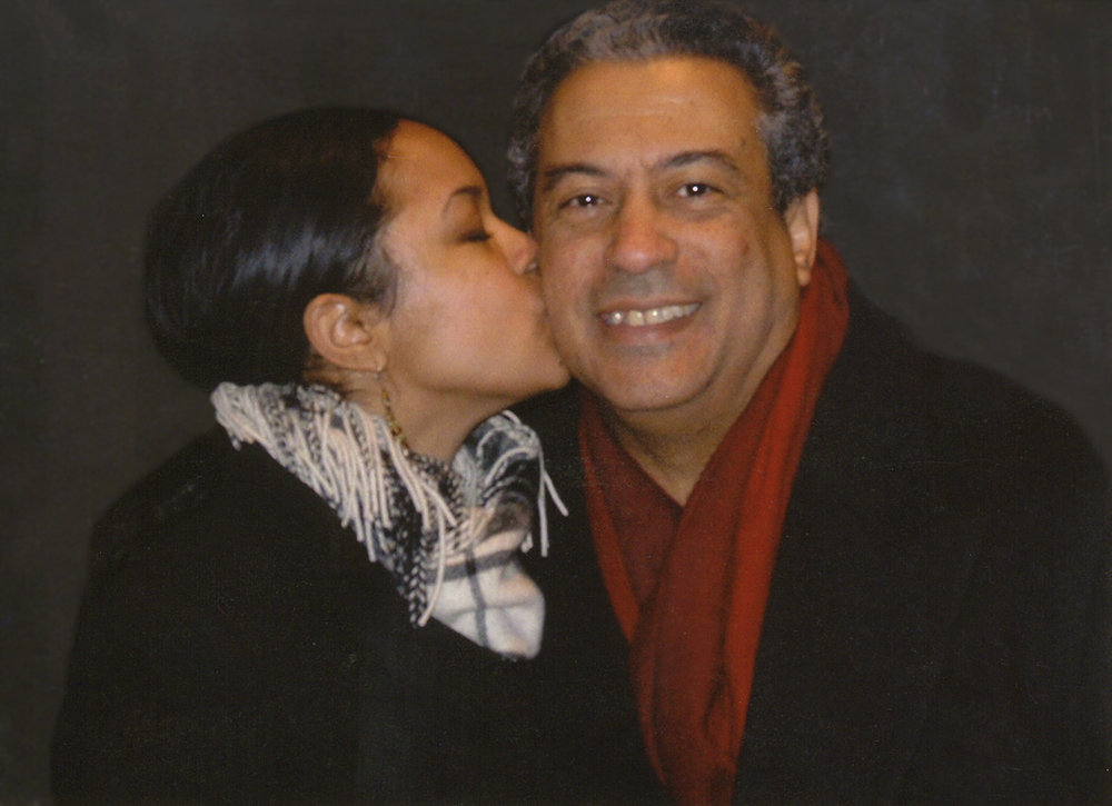 Dorien Nunez '75 with his daughter, Asia, who died in November of 2016.