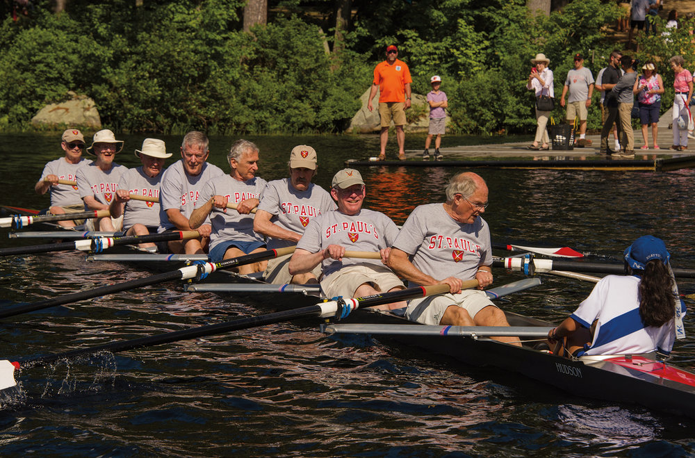 Members of the Form of 1958 returned to Turkey Pond.