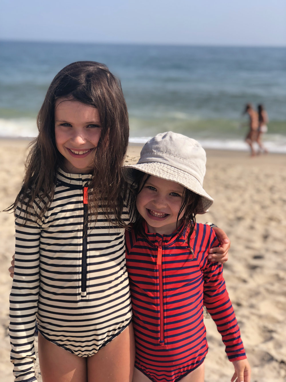 Eloise (7) and Margot (5), daughters of Alison Bardeen '94.