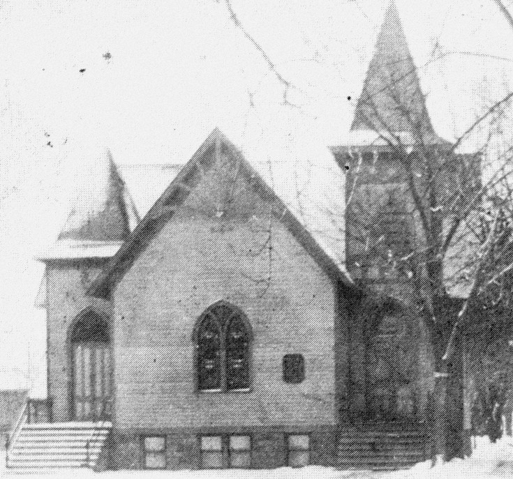 First Presbyterian Church , 1884 to 1916.