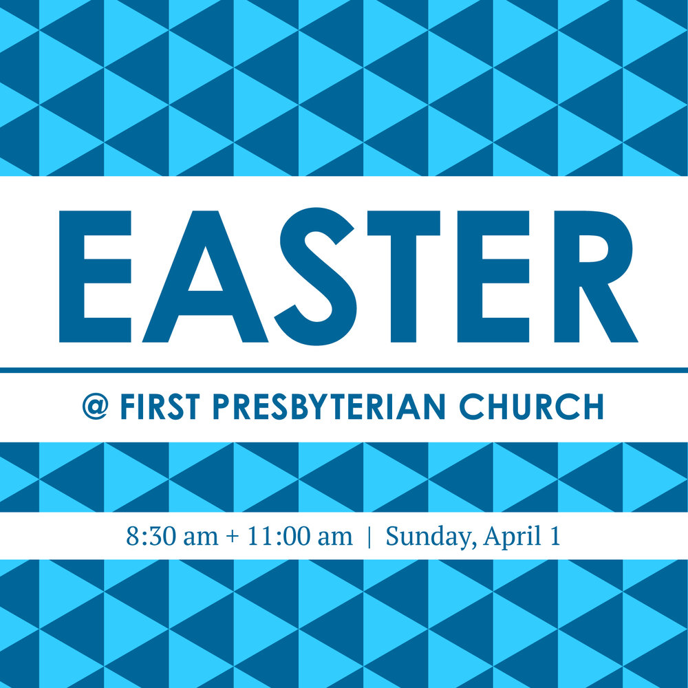 Easter at First Presbyterian Church of Sioux Falls.