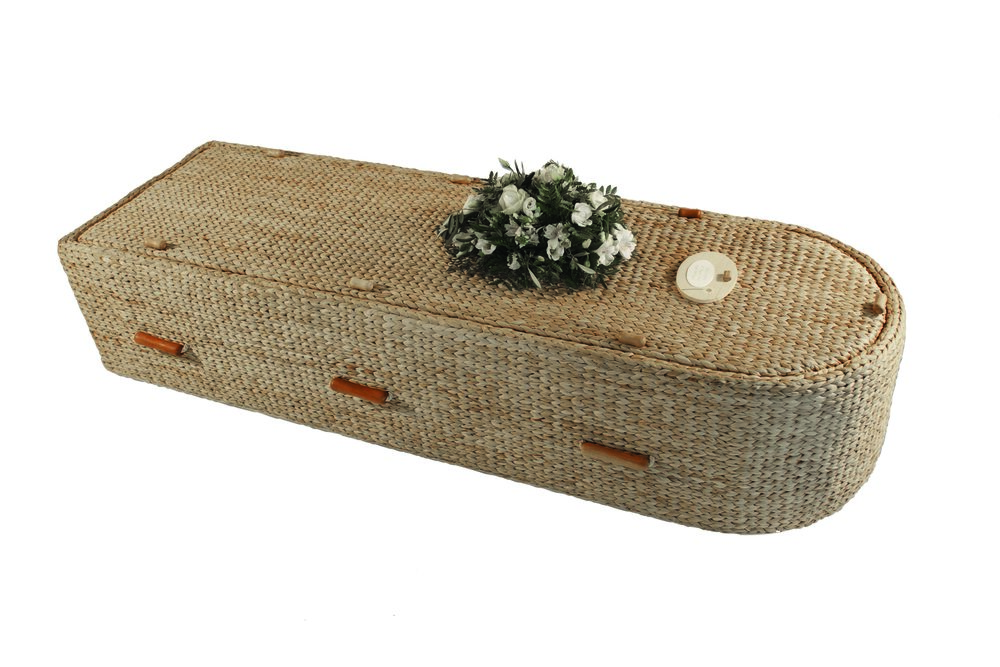 WATER HYACINTH CASKET