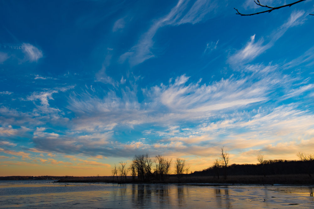 Potomac Twilight, from Dyke Marsh Wildlife Preserve