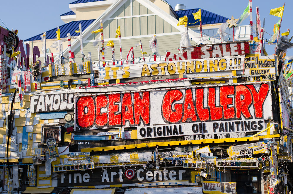 Ocean Gallery, Ocean City, Maryland