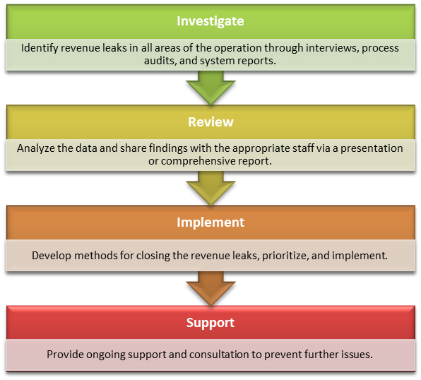 Revenue cycle consulting process.