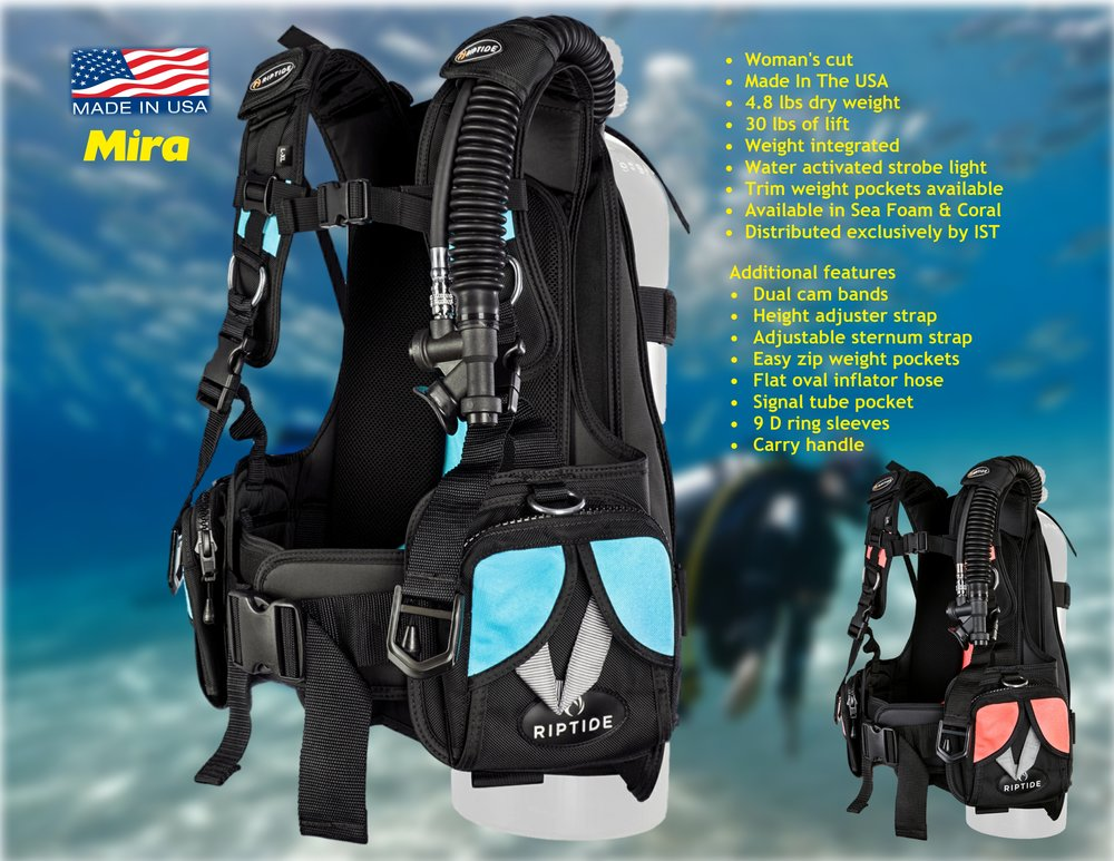 Mira / Distributed exclusively by IST Diving Systems