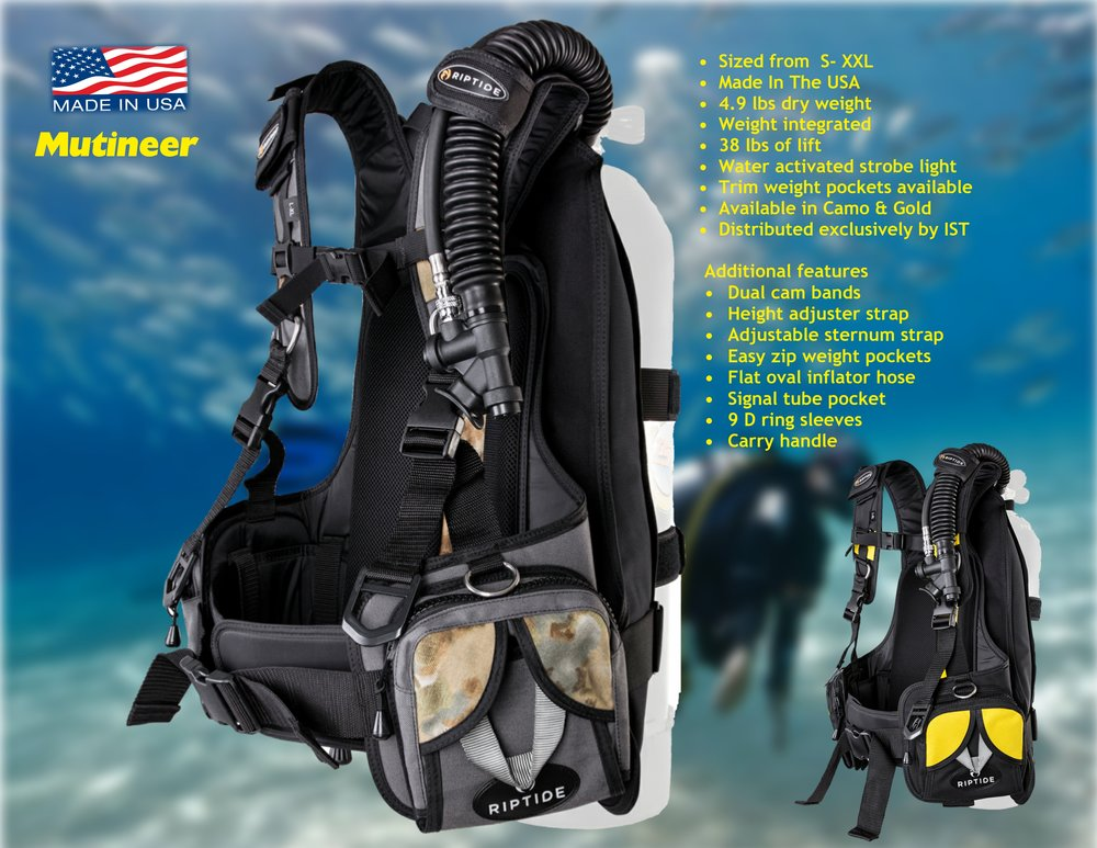Mutineer / Distributed exclusively by IST Diving Systems
