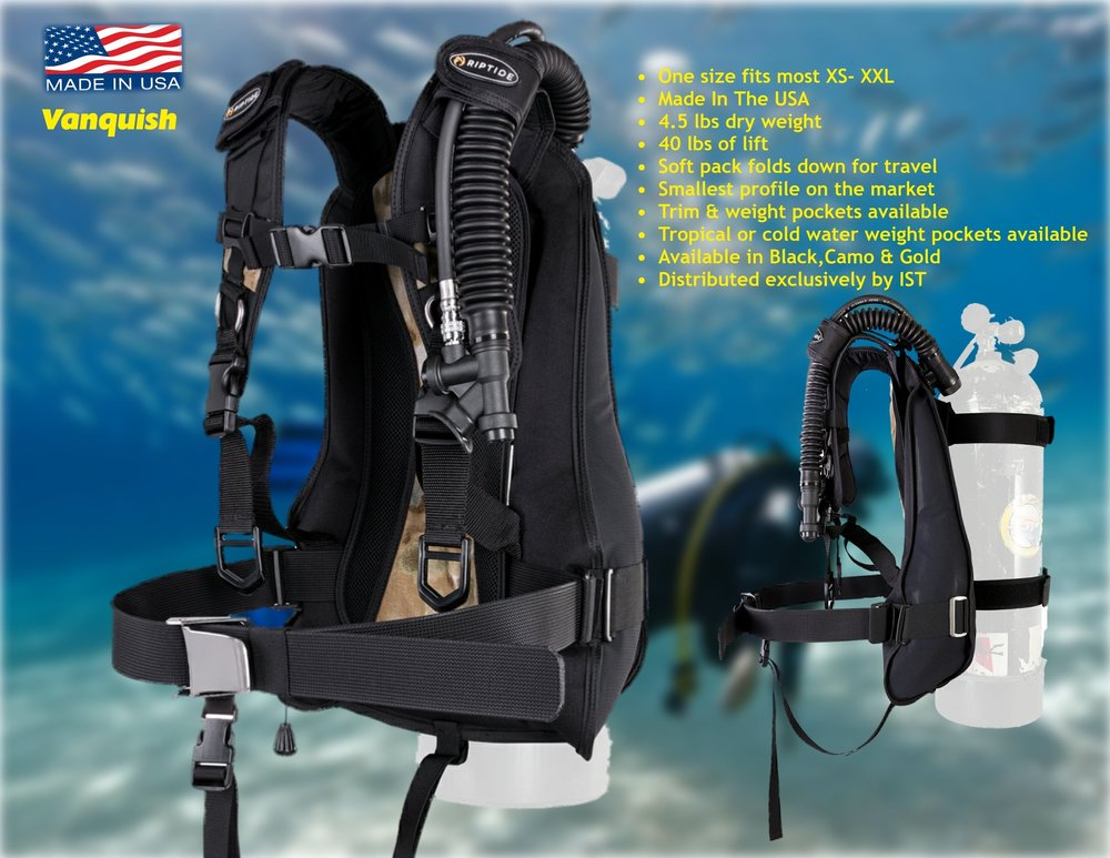 Vanquish / Distributed exclusively  by IST Diving Systems