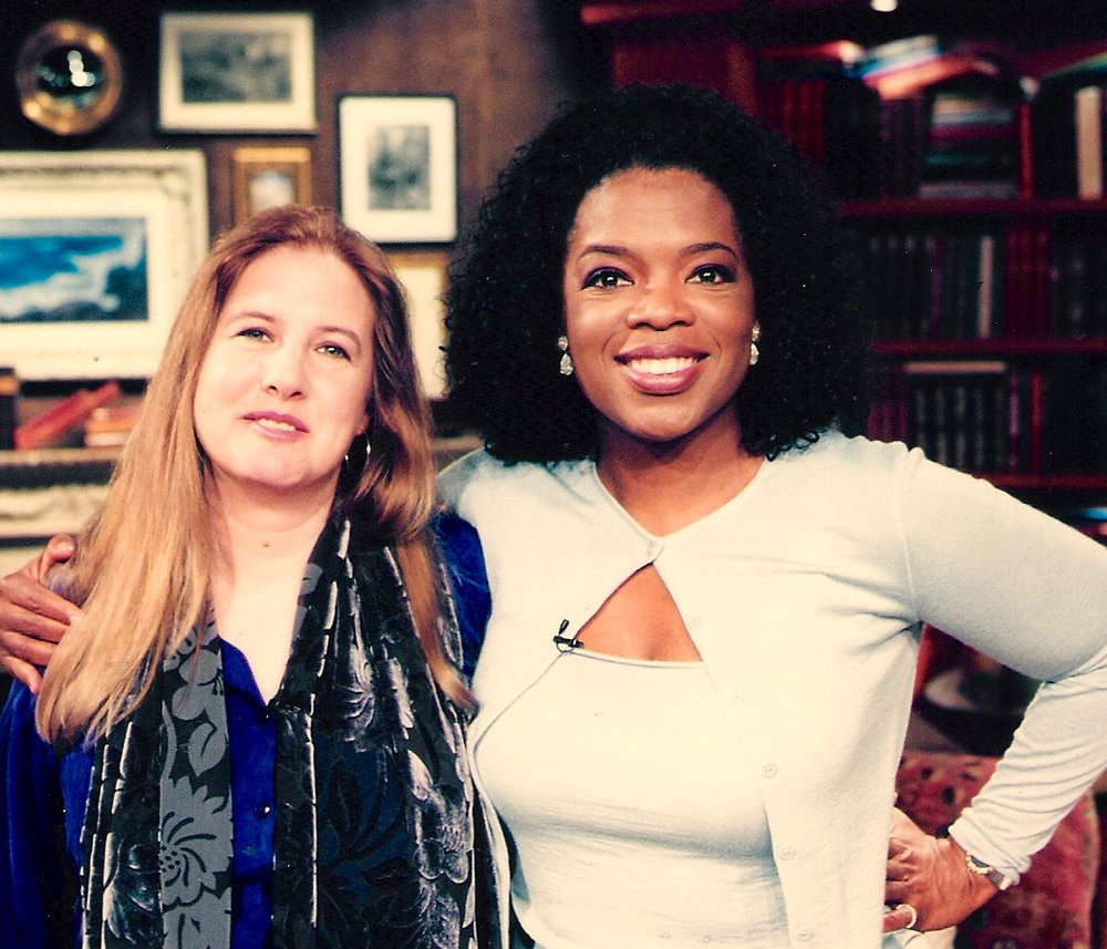 With Oprah for Oprah's BookClub to discuss  White Oleander .