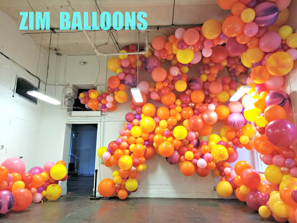 San Francisco Balloon Garland Zim Balloons Wedding at SF Mint_1.jpg
